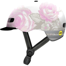 Nutcase Street MIPS Casque, delecate flower reflective